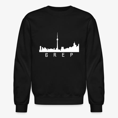 6rep Six White - Unisex Crewneck Sweatshirt