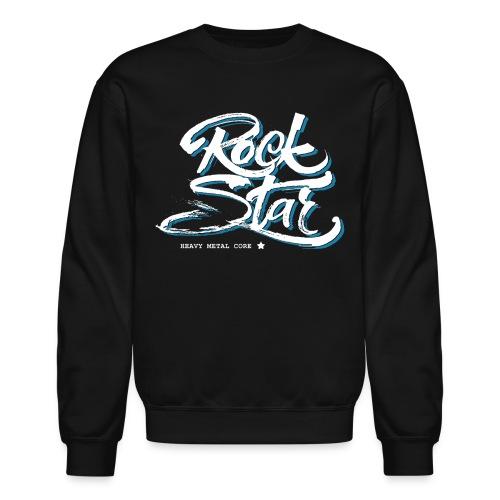 heavy metal rock star - Unisex Crewneck Sweatshirt