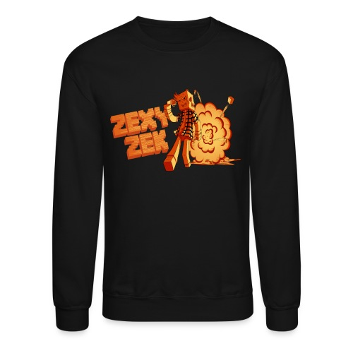 FireZek png - Crewneck Sweatshirt