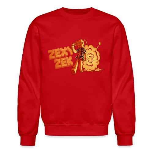 FireZek png - Unisex Crewneck Sweatshirt