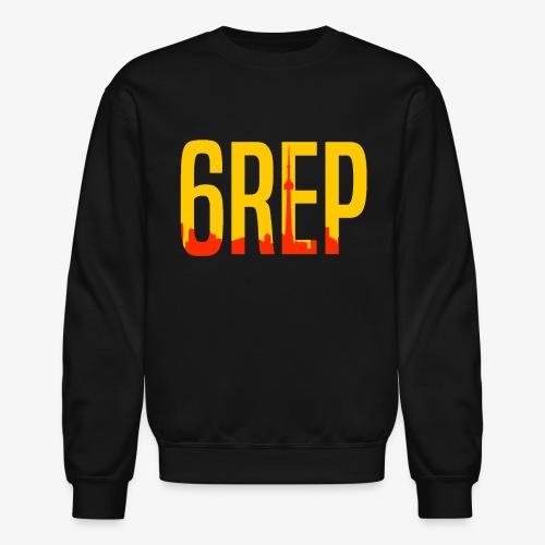 6repSkyYellowLogo - Unisex Crewneck Sweatshirt