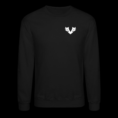 white Villain 2D - Crewneck Sweatshirt