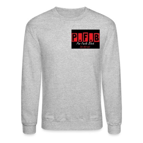 Pas Facile Bitch - Crewneck Sweatshirt