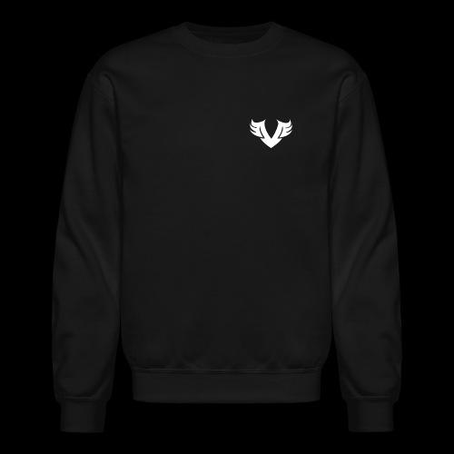 white Villain 2D - Unisex Crewneck Sweatshirt