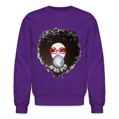 Afro pop_ - Crewneck Sweatshirt