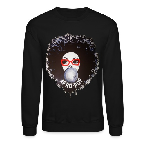 Afro pop_ - Crewneck Sweatshirt