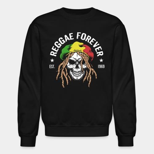 reggae forever rasta jamaica - Crewneck Sweatshirt