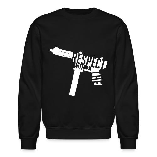 Respect With The Tech - Unisex Crewneck Sweatshirt