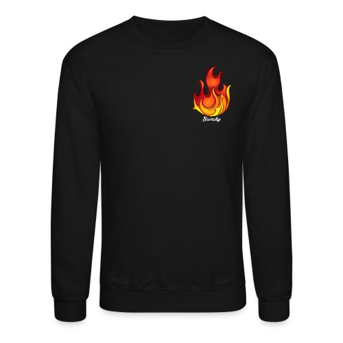 Scorchy White Logo - Crewneck Sweatshirt