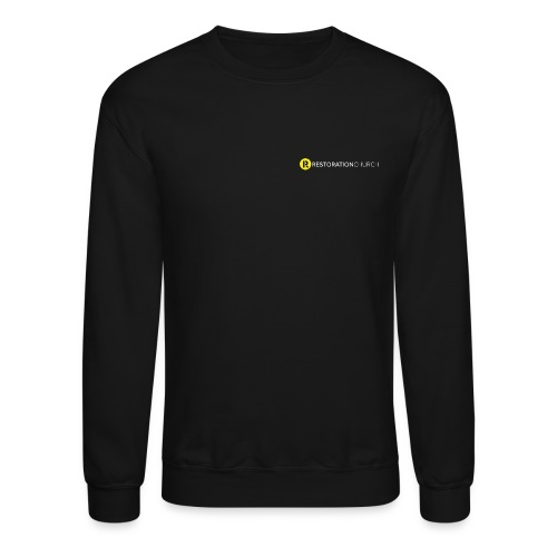 Restoration Text - Crewneck Sweatshirt