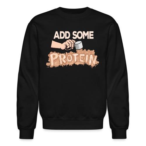 protein darks - Crewneck Sweatshirt