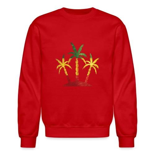 Palm Tree Reggae - Crewneck Sweatshirt