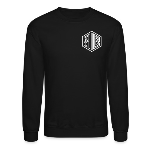Blackout // WHITE Brand Logo > BLACK - Unisex Crewneck Sweatshirt