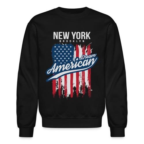nyc new york brooklyn - Unisex Crewneck Sweatshirt