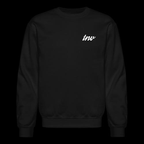 TNV WHITE png - Unisex Crewneck Sweatshirt