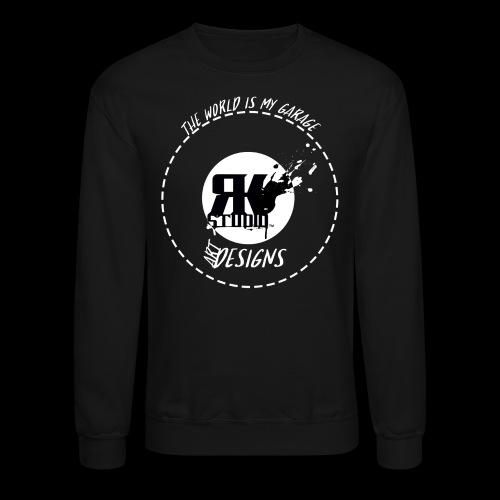 The World is My Garage - Crewneck Sweatshirt