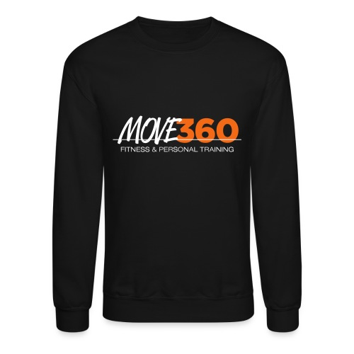 Move360 Logo LightGrey - Unisex Crewneck Sweatshirt