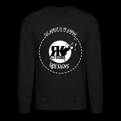 The World is My Garage - Unisex Crewneck Sweatshirt