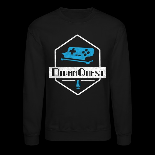 DivanQuest Logo (Badge) - Unisex Crewneck Sweatshirt