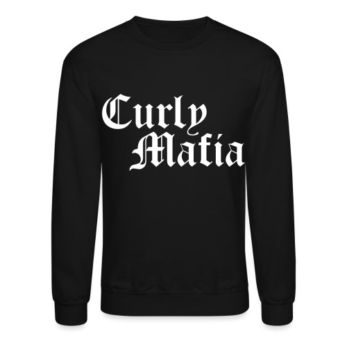 Curly Mafia - Unisex Crewneck Sweatshirt