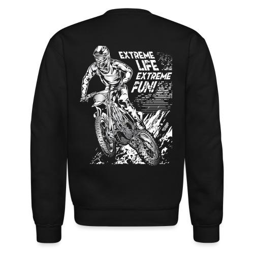 Motocross Extreme Fun - Crewneck Sweatshirt