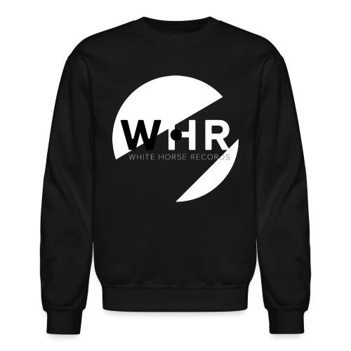 White Horse Records Logo - Black - Crewneck Sweatshirt