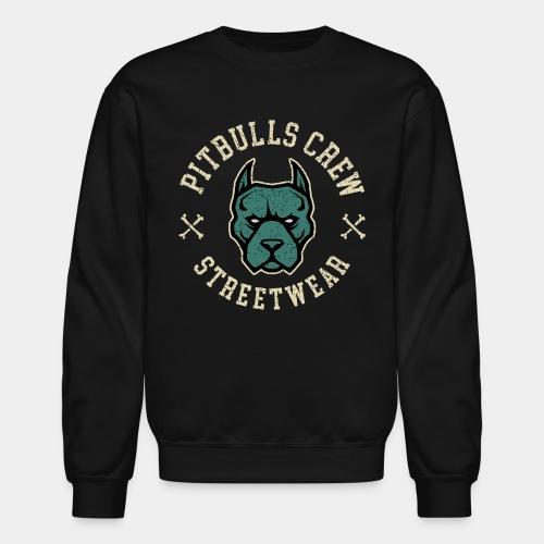 pitbull street - Crewneck Sweatshirt