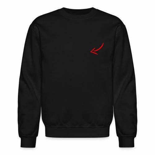 Clickbait arrow - Unisex Crewneck Sweatshirt