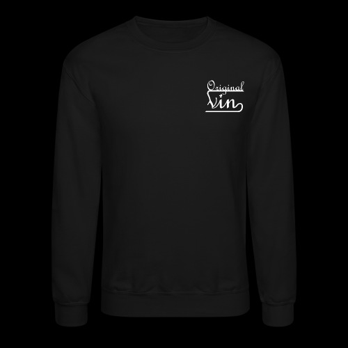 Vin White Original png - Unisex Crewneck Sweatshirt