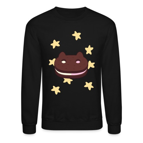 cookie cat png - Crewneck Sweatshirt