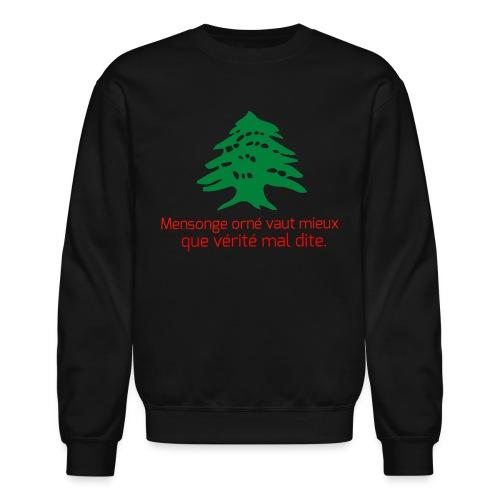 Collection Lebanese Proverb - Crewneck Sweatshirt