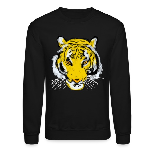 Tiger head - Unisex Crewneck Sweatshirt