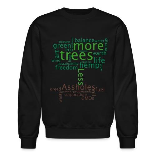 tree1mon - Crewneck Sweatshirt