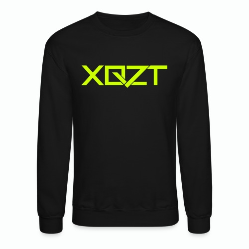 #XQZT Logo Lime Light - Unisex Crewneck Sweatshirt