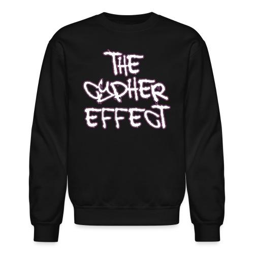 pink outline tce2 png - Crewneck Sweatshirt