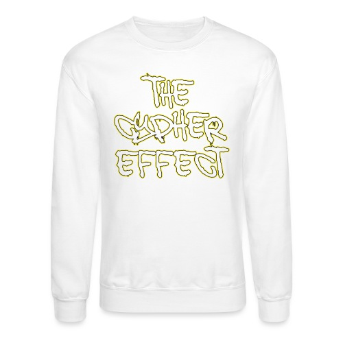 yellow outline tce2 png - Unisex Crewneck Sweatshirt