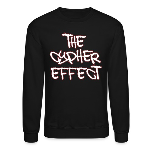 red outline tce2 png - Unisex Crewneck Sweatshirt