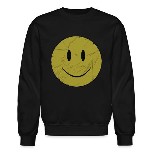 smiley face - Unisex Crewneck Sweatshirt