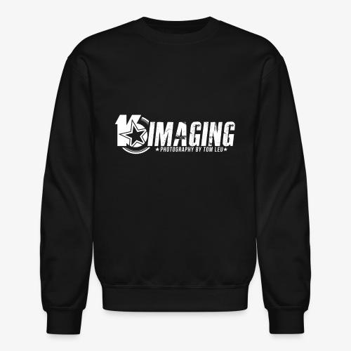16IMAGING Horizontal White - Unisex Crewneck Sweatshirt