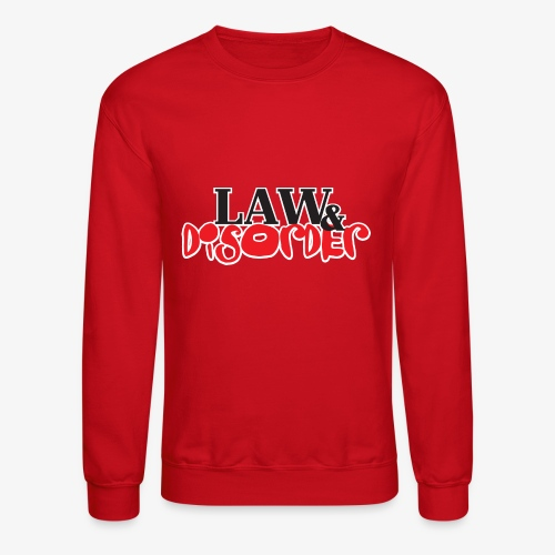 Law DISORDER Logo - Crewneck Sweatshirt