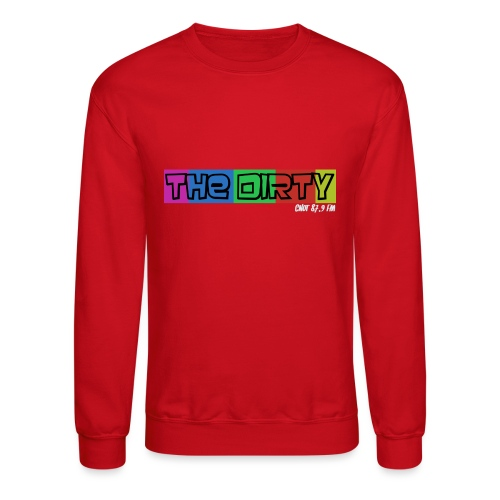 The Dirty FM transparent - Crewneck Sweatshirt