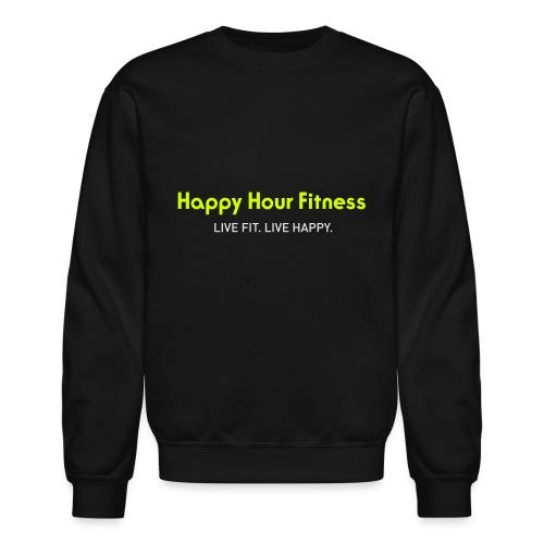 HHF_logotypeandtag - Unisex Crewneck Sweatshirt
