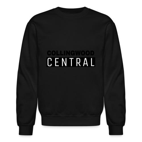 BLK Collingwood Central Logo - Crewneck Sweatshirt