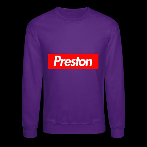 RealPrestonGamez Supreme Box - Crewneck Sweatshirt