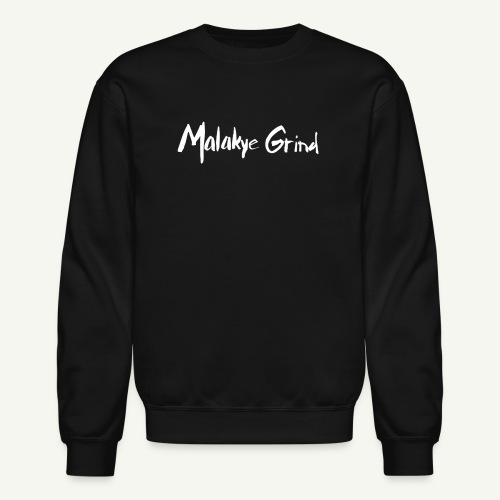 Malakye Grind Rock'n'Roll is Black Series - Unisex Crewneck Sweatshirt