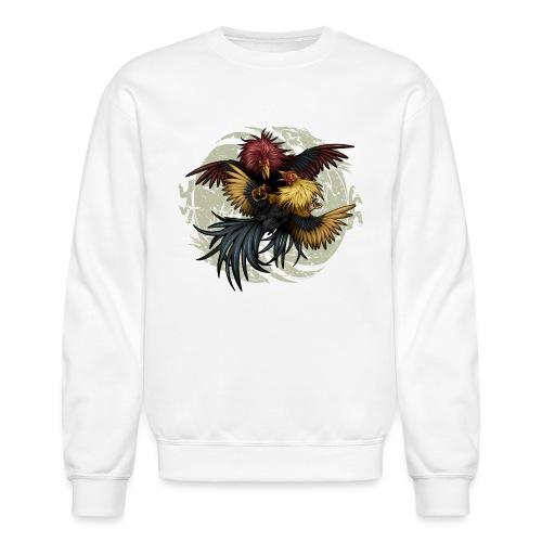 Ying Yang Gallos by Rollinlow - Crewneck Sweatshirt