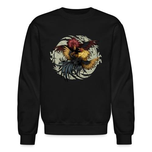 Ying Yang Gallos by Rollinlow - Unisex Crewneck Sweatshirt