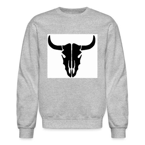 Longhorn skull - Crewneck Sweatshirt