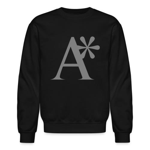 A* logo - Unisex Crewneck Sweatshirt