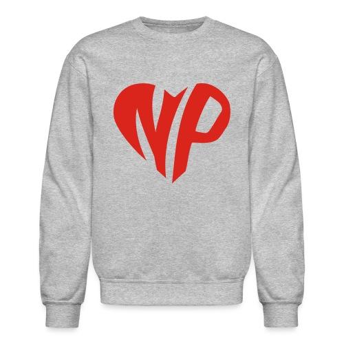 np heart - Unisex Crewneck Sweatshirt